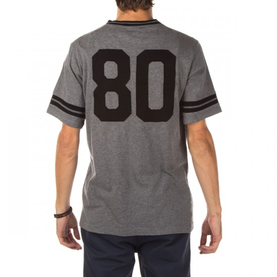 The Hundreds Savoy Short Sleeve Jersey Shirt - Athletic Heather