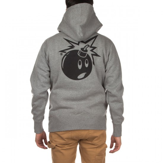 The Hundreds Simple Adam Pullover Hoodie - Gunmetal Heather