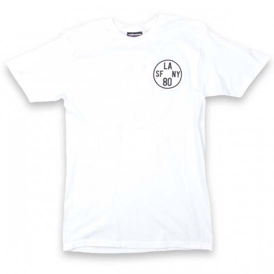 The Hundreds Time Zone Soft Fit T-Shirt - White