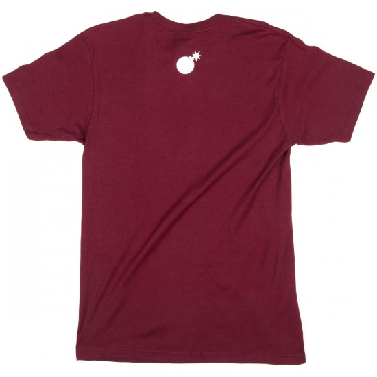 The Hundreds We Out Here T-Shirt - Burgundy