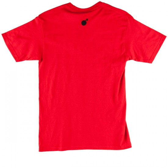 The Hundreds Words T-Shirt - Red