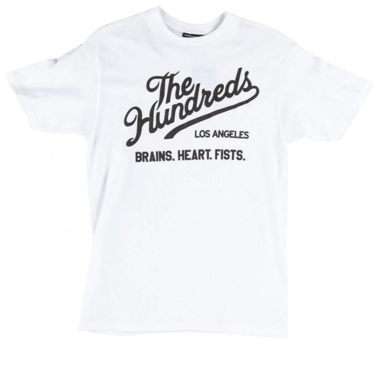 The Hundreds Words T-Shirt - White