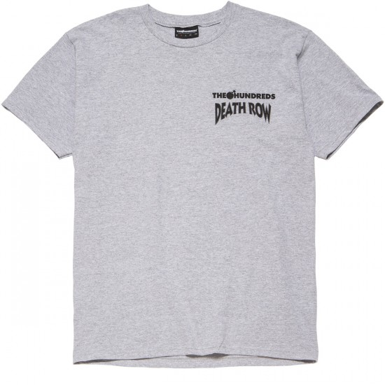 The Hundreds X Death Row 25th T-Shirt - Athletic Heather