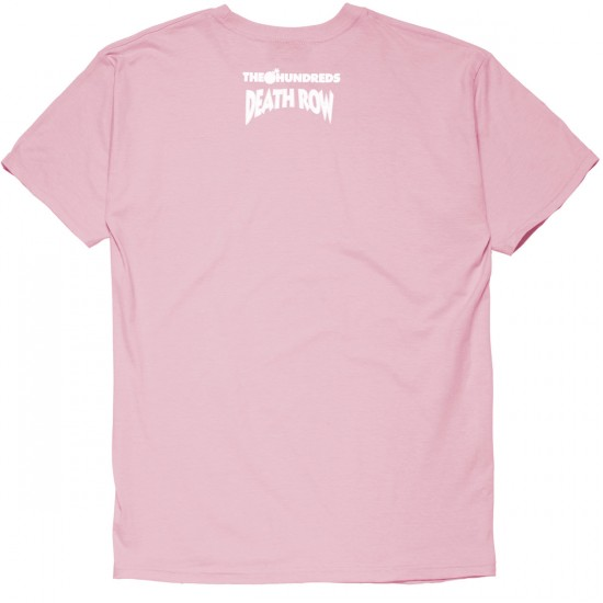The Hundreds X Death Row Classic T-Shirt - Pink