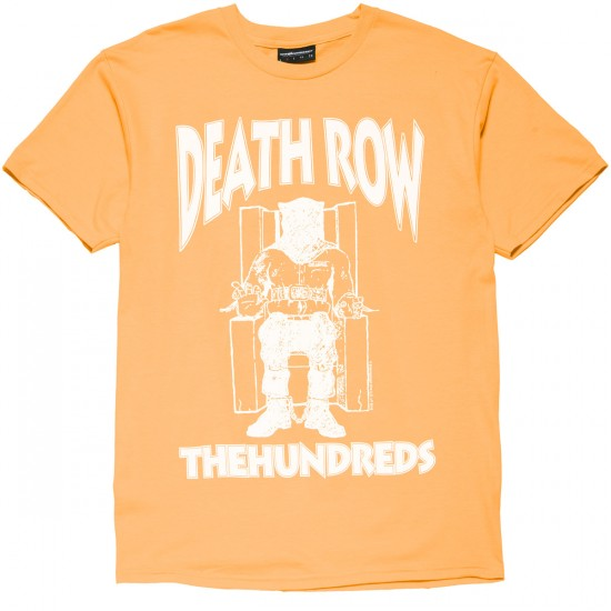 The Hundreds X Death Row Classic T-Shirt - Squash