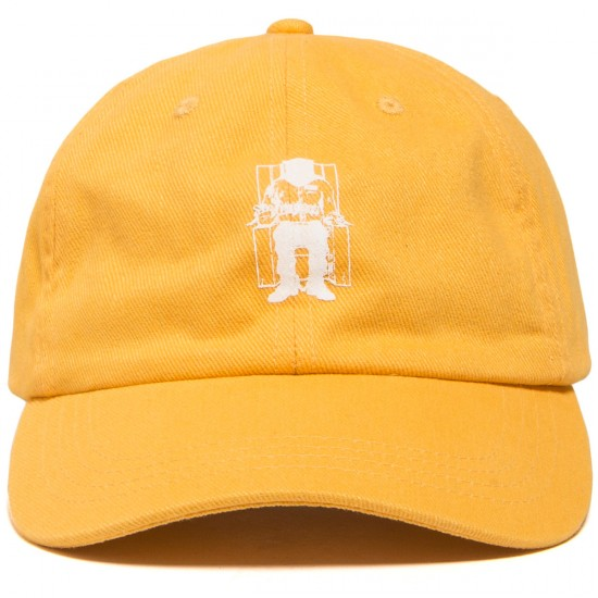 The Hundreds X Death Row Executioner Dad Hat - Yellow