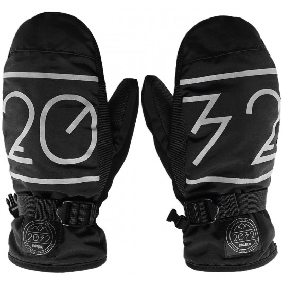 Thirty Two 2032 Mitt Snowboard Gloves - Black