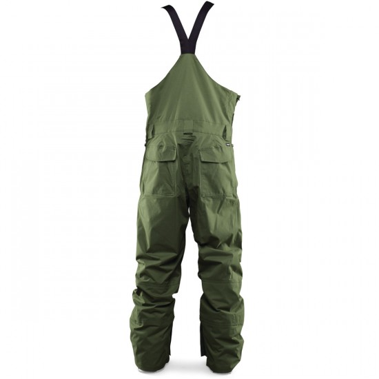 Thirty Two Basement Bib Snowboard Pants - Military