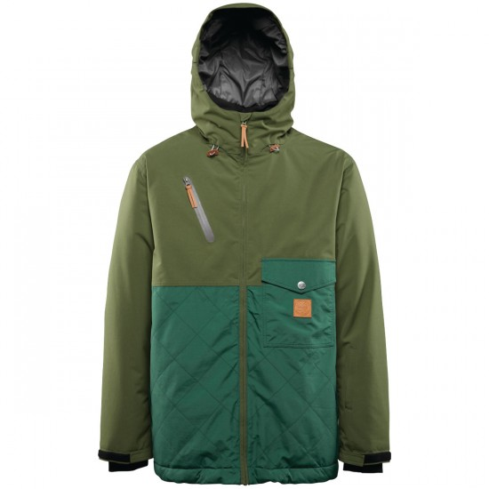 Thirty Two Holcomb Snowboard Jacket - Military