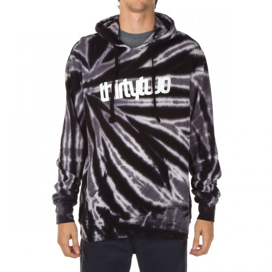 Thirty Two Inyo Pullover Fleece Hoodie - Black
