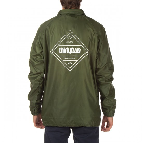 Thirty Two Kramer Coach Jacket - Military