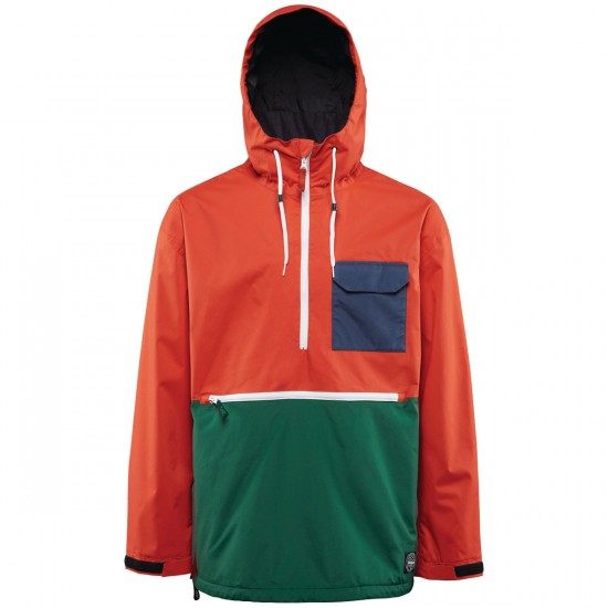 Thirty Two Meyers Snowboard Jacket - Tangerine