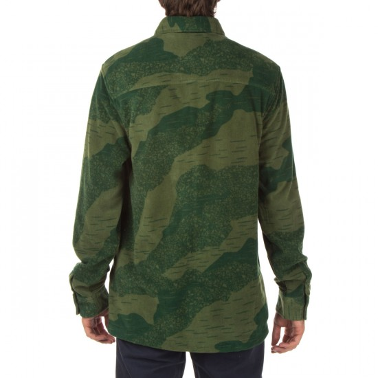 Thirty Two Rest Stop Printed Shirt - Camo