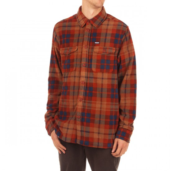 Thirty Two Rest Stop Printed Shirt - Clove