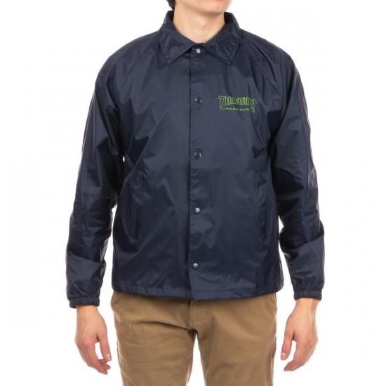 Thrasher Circuit Goat Coach Jacket - Navy