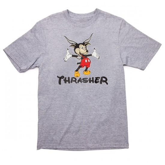 Thrasher Mousegoat T-Shirt - Grey