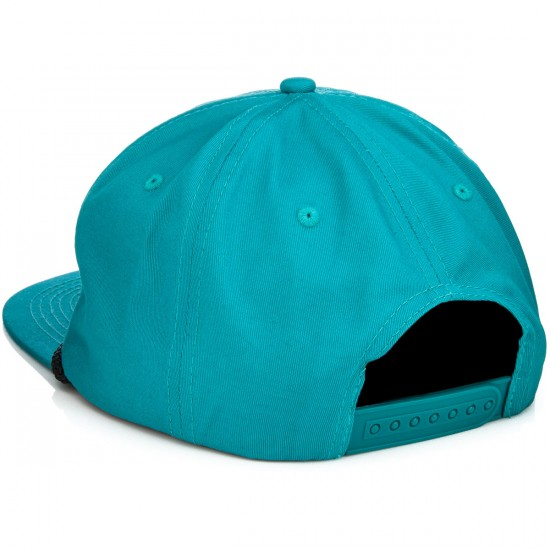 Thrasher Rope Snapback Hat - Teal/Black
