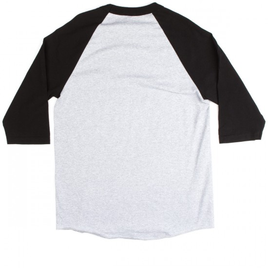 Thrasher Skate and Destroy Raglan T-Shirt - Grey/Black