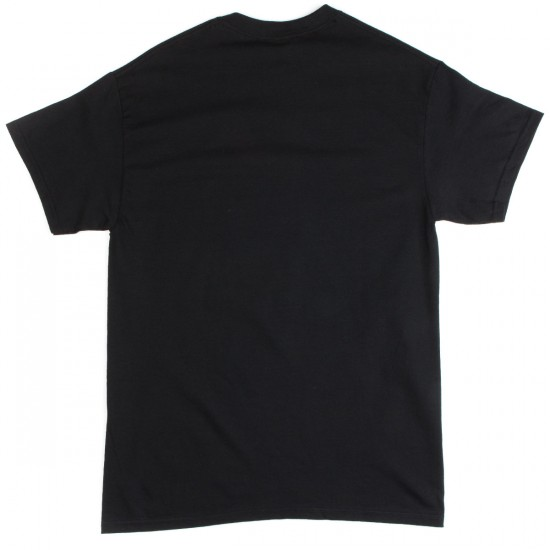 Thrasher Skate Outlaw T-Shirt - Black