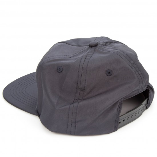 Thrasher Flame Snapback Hat - Gray