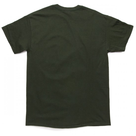 Thrasher Fish T-Shirt - Forest Green