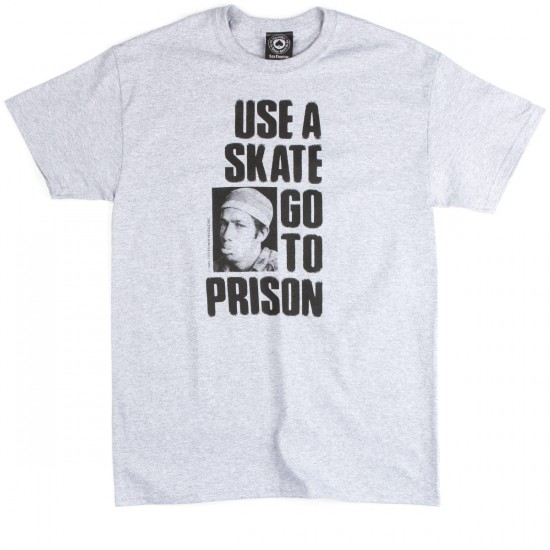 Thrasher Use A Skate Go To Prison T-Shirt - Grey