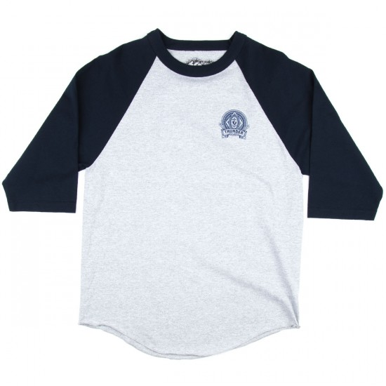 Thunder Hand Crafted 3/4 Sleeve Raglan T-Shirt - Navy/Athletic Heather