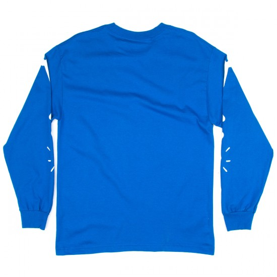 Tired Bones Long Sleeve T-Shirt - Royal Blue