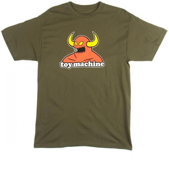 Toy Machine Monster T-Shirt - Army