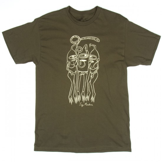 Toy Machine Skateboards Draw T-Shirt - Military