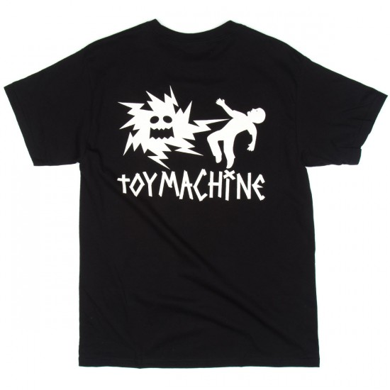 Toy Machine Skateboards Electric Monster T-Shirt - Black