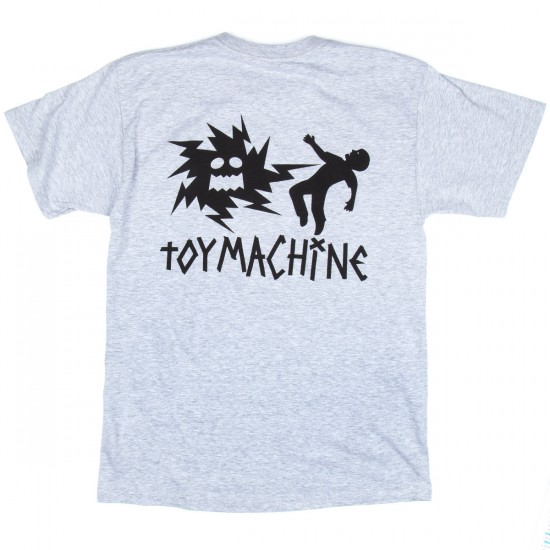 Toy Machine Skateboards Electric Monster T-Shirt - Grey