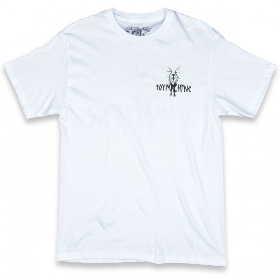 Toy Machine Skateboards Evil Sect T-Shirt - White