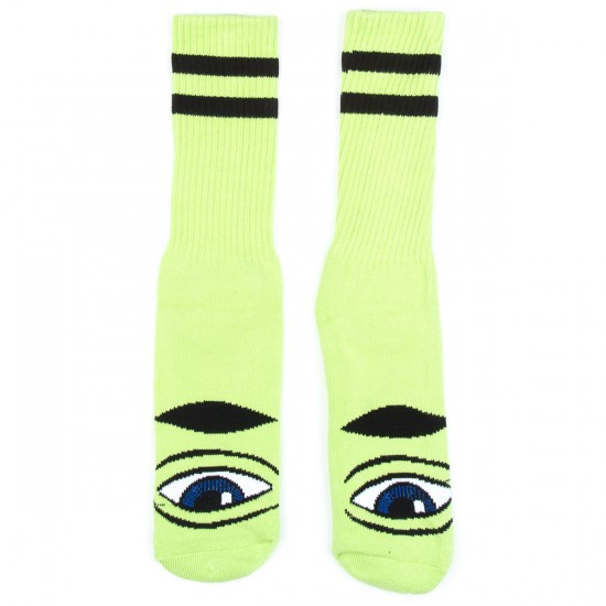 Toy Machine Skateboards Sect Eye Sock III Socks - Green