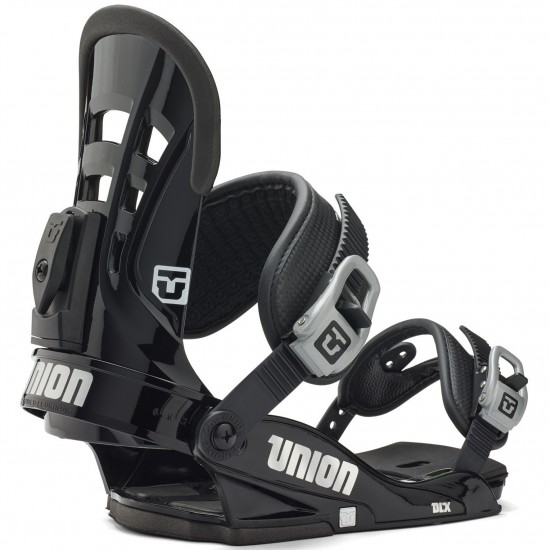 Union DLX Snowboard Bindings 2015 - Black