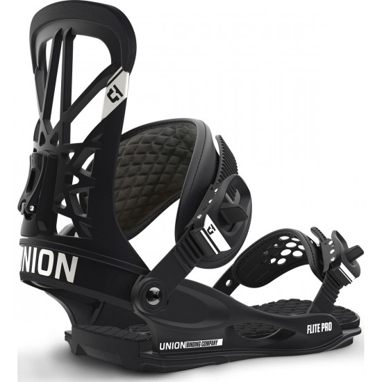 Union Flite Pro Snowboard Bindings 2017 - Black