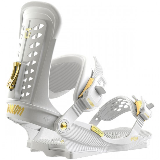 Union Trilogy Snowboard Bindings - White