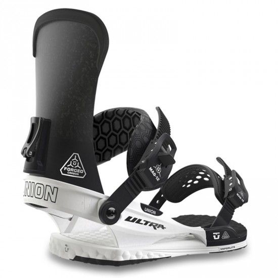 Union Ultra Snowboard Bindings - White/Black