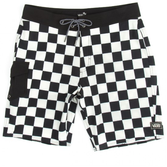 Vans Ampster Boardshorts - Black/Whitecaps