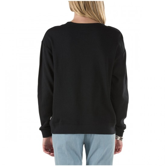Vans Authentic Crew Fleece Sweater - Black