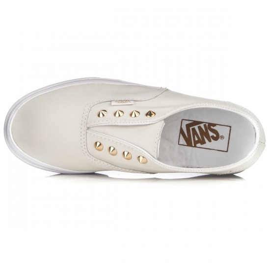 Vans Authentic Gore Womens Shoes - Studs/Leather/True White - 3.5