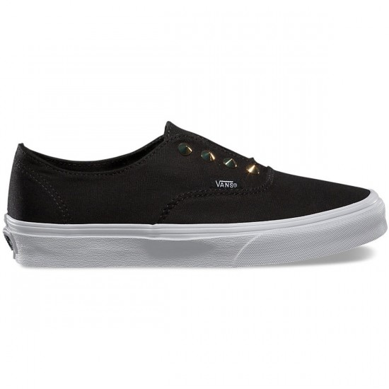 Vans Authentic Gore Studs Shoes - Black - 9.0
