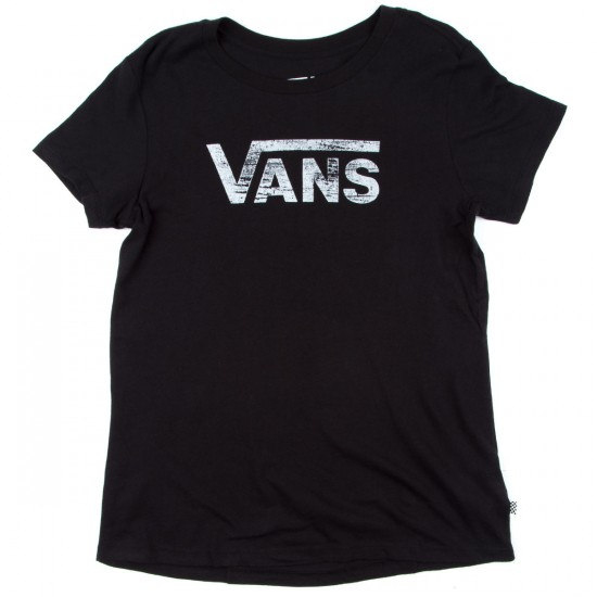 Vans Authentic Logo T-Shirt - Black