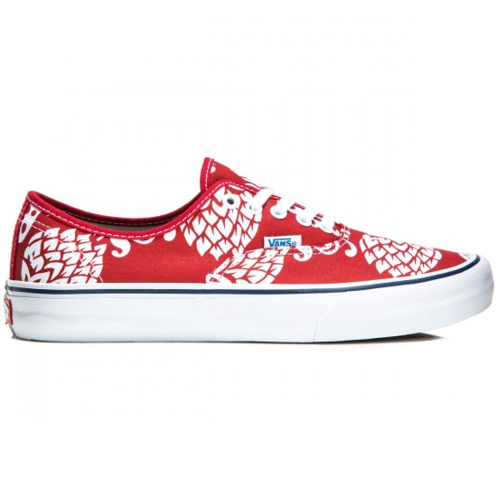Vans Authentic Pro Shoes - Duke/Red/White - 8.0