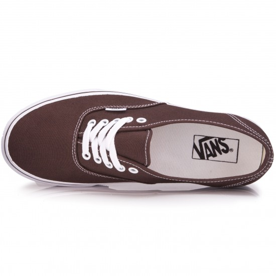 Vans Original Authentic Shoes - Espresso - 6.5