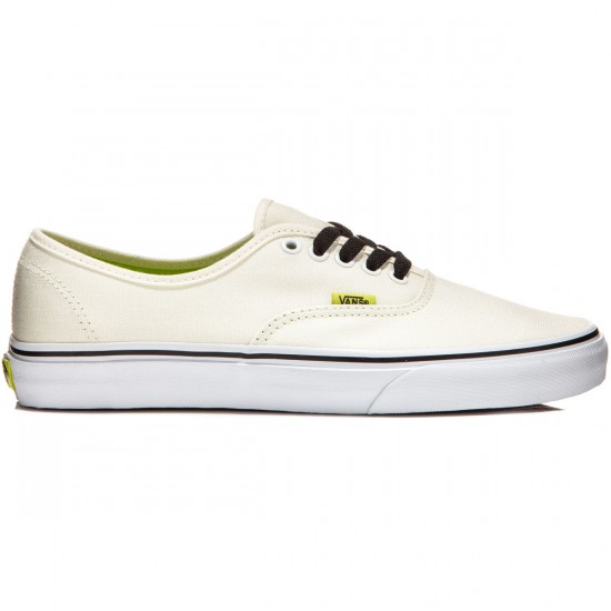 Vans Original Authentic Shoes - Pop/Classic White/Lime Punch - 7.0