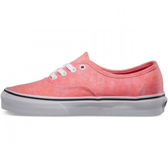 Vans Sparkle Authentic Womens Shoes - Coral - 7.5
