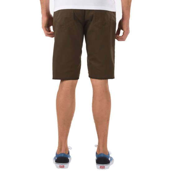 Vans AV Covina Shorts - Chocolate