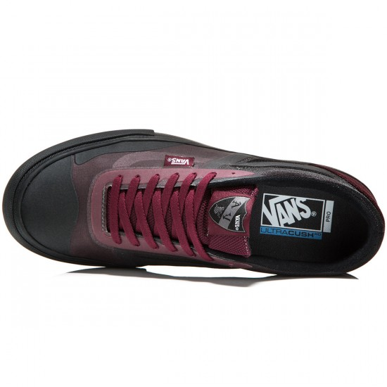 vans authentic lite waxed black