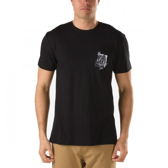 Vans AV78 Block T-Shirt - Black